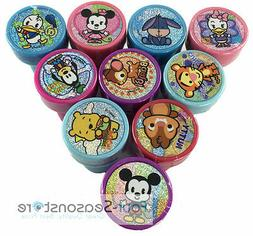 10ct Disney Tsum Tsum Characters Stamps self-ink toy Party F