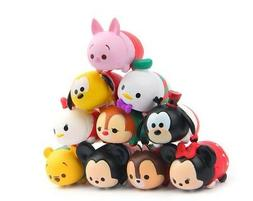 10pcs Tsum Tsum Figure Mickey Minnie Donald Daisy Pooh Goofy