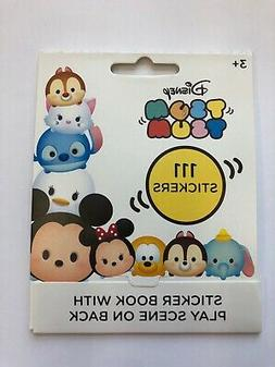 111 Tsum Tsum sticker book with play scene party supply favo