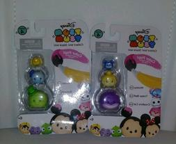 3-pack Tsum Tsum COLOR POP CHESHIRE MICKEY TINKER Limited Ed