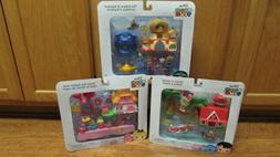 3 Tsum Tsum Playsets Ohana in Hawaii Down the Rabbit Hole Pa