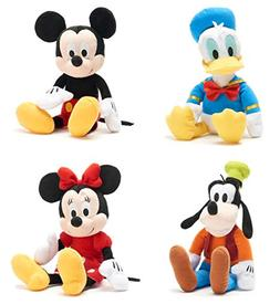 4 Dreamy Soft Character Mickey Mouse & Minnie Mouse + Disney