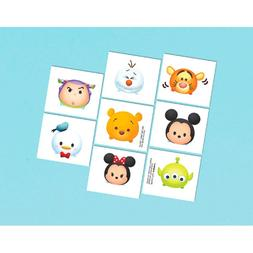 8 Tsum Tsum Temporary Tattoos , Party Favors
