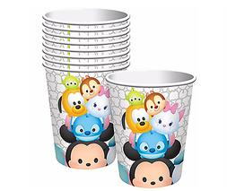 Tsum Tsum Birthday 9oz Paper Cups Birthday Party Supplies