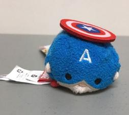 Captain America Mini Plush Disney Tsum Tsum
