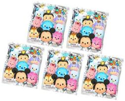 DISNEY TSUM TSUM SERIES 2 FIGURAL KEYRING LOT OF 5 SEALED BL