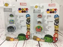 Disney  Marvel 3 action figure series 1 pack of 2 Tsum Tsum