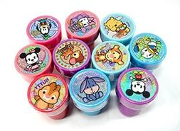 Disney Mickey and Minnie Clubhouse Cuties Self-inking 10pc S
