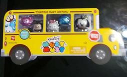 Disney TSUM TSUM School Bus METALLIC Mickey Goofy Marie Walg