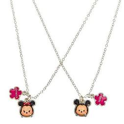 Disney Tsum Tsum Best Friend Necklace Set of 2 Mickey Mouse