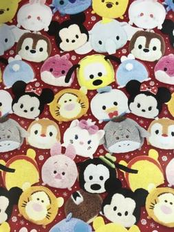 Disney Tsum Tsum Christmas Gift Wrapping Paper 60 sq ft roll