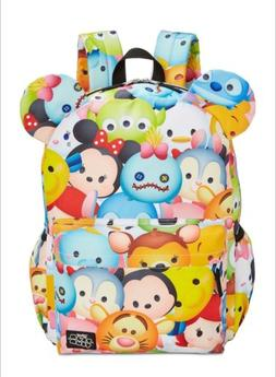 Disney Tsum Tsum Multi Character Backpack School Book Bag Wi