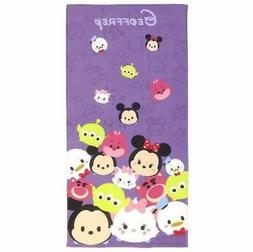 Disney Tsum Tsum Totes Adorbs Beach Towel - Personalized Bea
