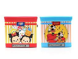 Finex SET OF 2 - Tsum Tsum & Mickey Minnie Mouse Collapsible