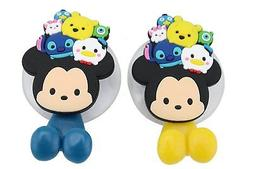 Finex Set of 2 Disney Tsum Tsum Mickey Mouse Pooh and Friend