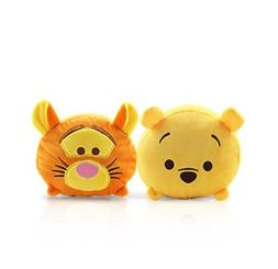 Finex - Set of 2 - Winnie the Pooh and Tigger Tsum Tsum Seri