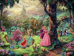 Sleeping Beauty Thomas Kinkade Disney Dreams Collection Jigs