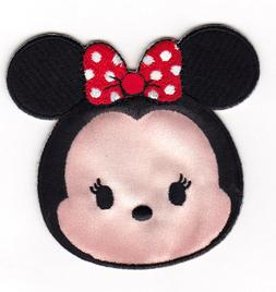 TSUM MINNIE MOUSE DISNEY Iron On Applique Patch TV Movies Ca
