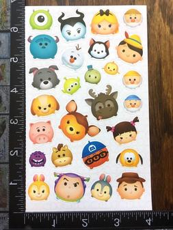 TSUM TSUM BY DISNEY, SHEET BEAUTIFUL STICKERS FOR SCRAPBOOK
