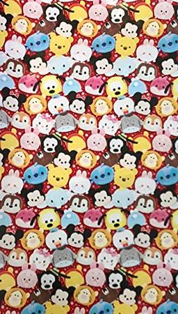 Tsum Tsum Heavyweight Holiday Wrapping Gift Wrap Paper Roll