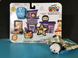Tsum Tsum Series 7 Woodys Round Up Playset With Opened Myste