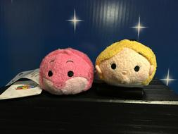 Disney Tsum Tsum Alice and Cheshire Cat NEW With Tags 3.5 in