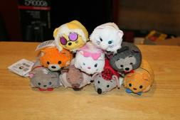 "Disney Aristocats Tsum Tsum 3.5"" Mini Plush Set of 9 NWT Roq"