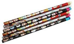Disney Tsum Tsum Assorted Wooden Pencil Collection