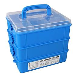 Bins & Things Stackable Toys Organizer Storage Case Compatib