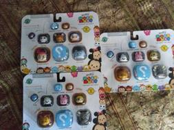 Tsum Tsum Disney 9 PacK Figures Series 4 L O T. OF. 3 PACKS