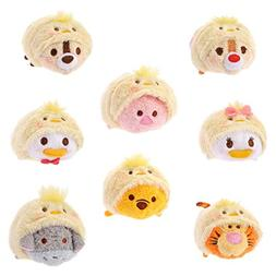 Disney Tsum Tsum Easter Set - Donald, Daisy, Chip, Dale, Poo