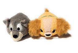 Disney's Lady and The Tramp Tsum Tsum Mini Set of 2