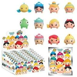 Disney Tsum Series 3, 3D Foam 5 Blind Bags Key Chains, 1 Fig