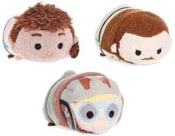 Disney Star Wars Episode 1 Phantom Menace Set of 3 Mini Tsum