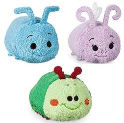 Disney Store Mini Tsum Tsum A Bug's Life Set of 3 Plush 3.
