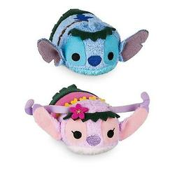 Disney Store Mini Tsum Tsum Special Hawaii Set of 2 Stitch a