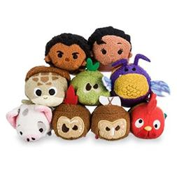 Disney Store Moana Mini Tsum Tsum Complete Set of 9 Plush To