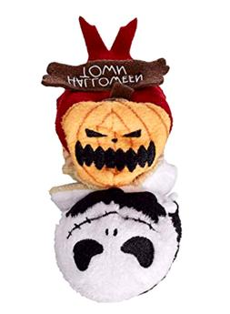 Disney Store Tsum Tsum Reversible Mini Plush Jack Skellingto