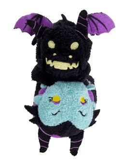 Disney Store Tsum Tsum Reversible Mini Plush Maleficent Drag