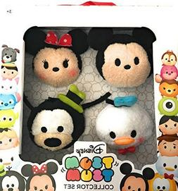 Disney Tsum Tsum Collector Set of 4 with Mickey Mouse Minnie