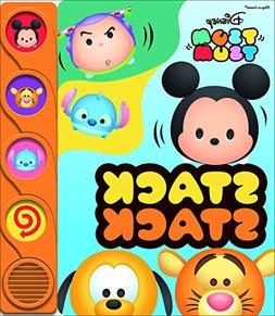 Disney Tsum Tsum Stack Stack Shaped Sound Book 9781503725041