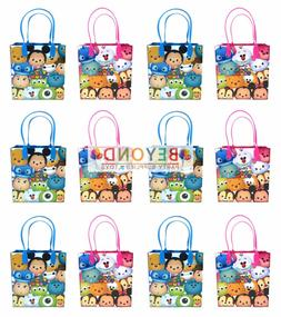 Disney Tsum Tsum Cartoon Birthday Goody Gift Loot Favor Bags