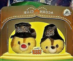 Disney Tsum Tsum Chip & Dale Acorn Club 75th Year Anniversar