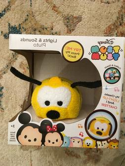 Disney Tsum Tsum Lights and Sounds Plush Figure Pluto