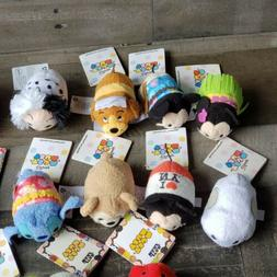 Disney Tsum Tsum Mini Plush Lot Of 15, Olaf, Captain America