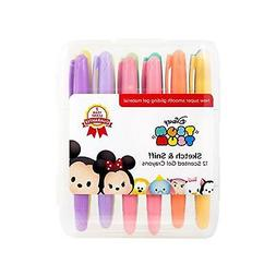 Disney Tsum Tsum Sketch & Sniff Scented Gel Crayons Set of 1