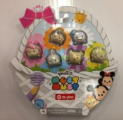Disney Tsum Tsums Pastel Parade GLITTER Exclusive EASTER Set