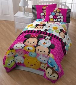 Disney Tsum Tsum 3 Piece Twin Sheet