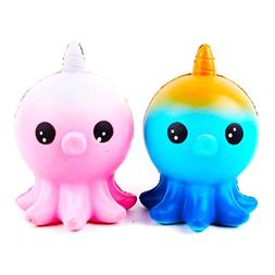 1 piece drop shipping Kawaii Squishies Jumbo Unicorn Octopus