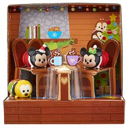 Tsum Tsum Exclusive Holiday Mickey & Minnie Gift Set Playset